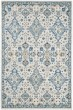 Product Image of Traditional / Oriental Ivory, Light Blue (C) Area Rug