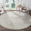 Product Image of Silver, Ivory (Z) Traditional / Oriental Area Rug