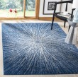 Product Image of Navy, Ivory (N) Contemporary / Modern Area Rug