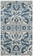Product Image of Traditional / Oriental Ivory, Blue (C) Area Rug