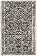 Product Image of Damask Ivory, Grey (D) Area Rug