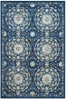 Product Image of Transitional Navy, Ivory (A) Area Rug