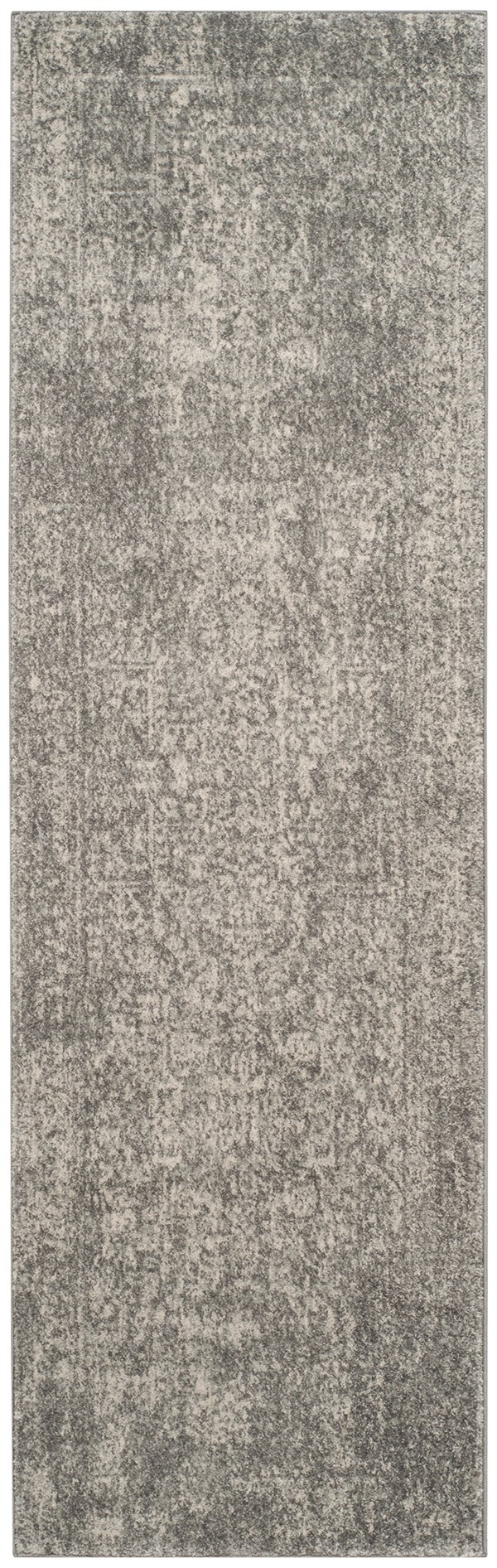 Silver, Ivory (S) Rustic / Farmhouse Area Rug