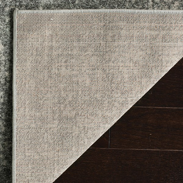 Silver, Ivory (S) Rustic / Farmhouse Area Rug