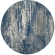 Product Image of Navy, Ivory (A) Contemporary / Modern Area Rug