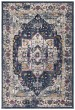 Product Image of Traditional / Oriental Navy, Grey (N) Area Rug