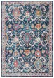 Product Image of Transitional Navy, Fuchsia (N) Area Rug