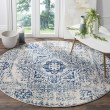 Product Image of Ivory, Blue (C) Transitional Area Rug