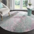 Product Image of Blue (F) Contemporary / Modern Area Rug
