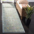 Product Image of Steel Blue (S) Vintage / Overdyed Area Rug