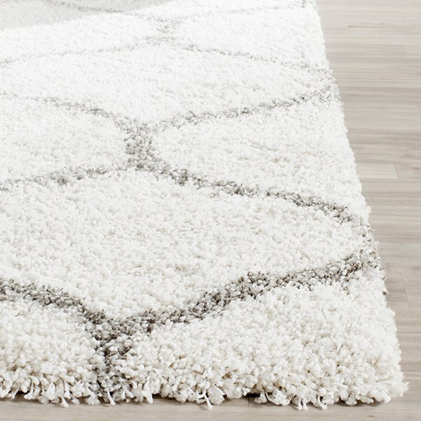 Ivory, Grey (A) Transitional Area Rug
