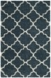 Product Image of Shag Slate Blue, Ivory (L) Area Rug