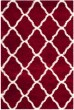 Product Image of Shag Red, Ivory (R) Area Rug
