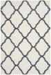 Product Image of Shag Ivory, Slate Blue (T) Area Rug