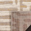 Product Image of Ivory, Mauve (A) Contemporary / Modern Area Rug