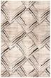 Product Image of Cream, Charcoal (A) Geometric Area Rug