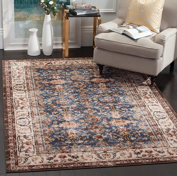 Royal, Ivory (B) Traditional / Oriental Area Rug