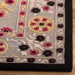 Product Image of Light Grey, Black (A) Traditional / Oriental Area Rug