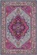Product Image of Traditional / Oriental Grey, Pink (B) Area Rug