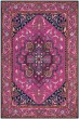 Product Image of Traditional / Oriental Pink, Navy (C) Area Rug