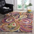 Product Image of Yellow (M) Shag Area Rug