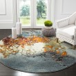 Product Image of Blue (B) Abstract Area Rug