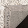Product Image of Silver, Ivory (A) Damask Area Rug