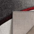 Product Image of Grey, Red (K) Contemporary / Modern Area Rug