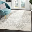 Product Image of Silver, Ivory (G) Vintage / Overdyed Area Rug