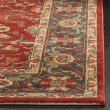 Product Image of Red, Navy (F) Traditional / Oriental Area Rug