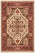 Product Image of Traditional / Oriental Cream, Red (A) Area Rug