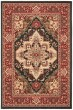 Product Image of Traditional / Oriental Navy, Red (C) Area Rug