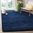 Product Image of Navy (7070) Shag Area Rug