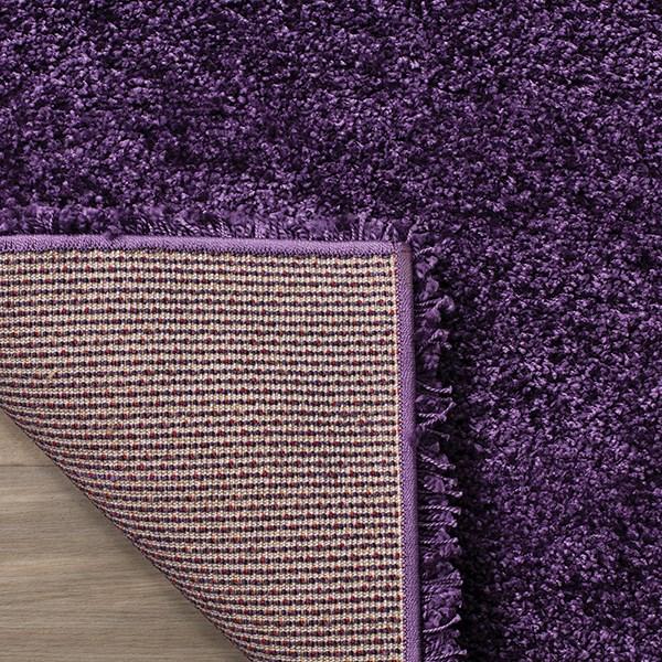 Purple (7373) Shag Area Rug