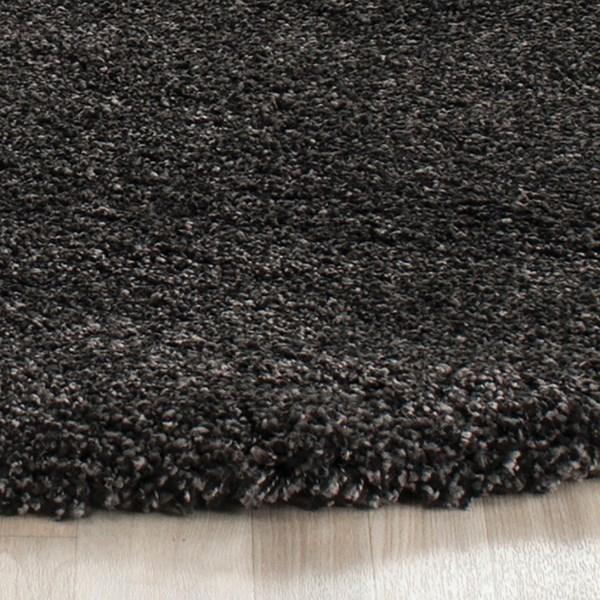 Dark Grey (8484) Shag Area Rug