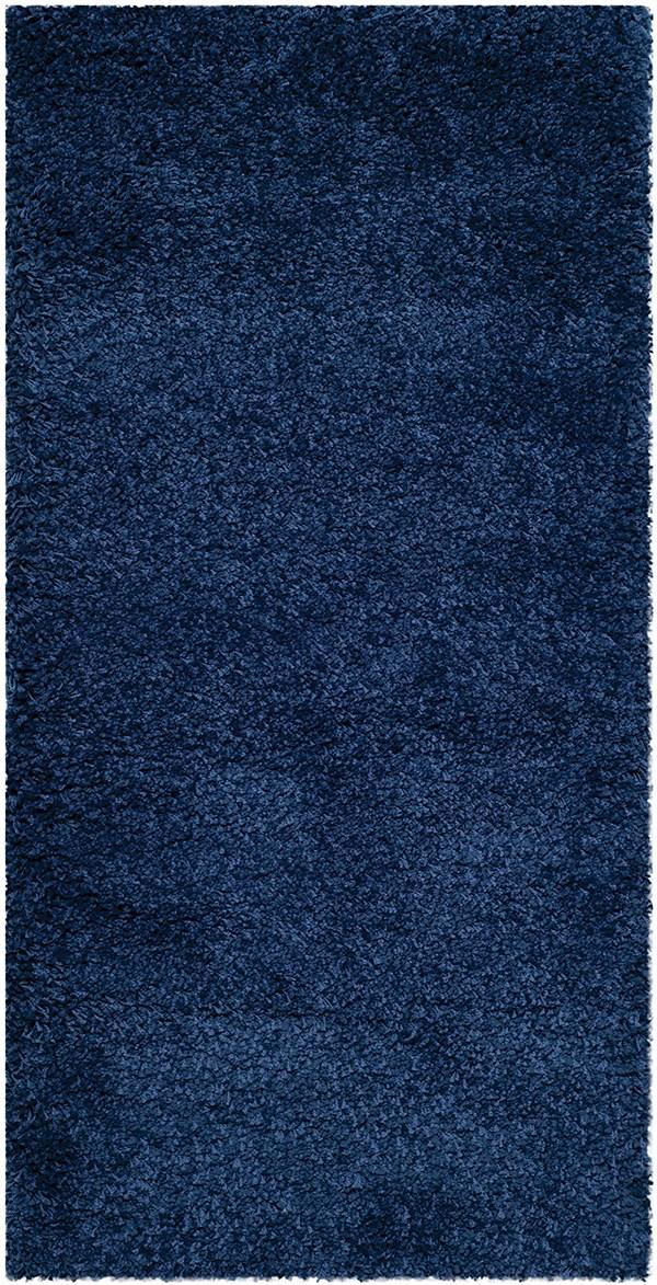 Navy (7070) Shag Area Rug