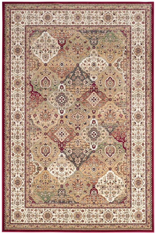 Beige, Ivory (R) Traditional / Oriental Area Rug