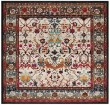 Product Image of Ivory, Anthracite (D) Vintage / Overdyed Area Rug