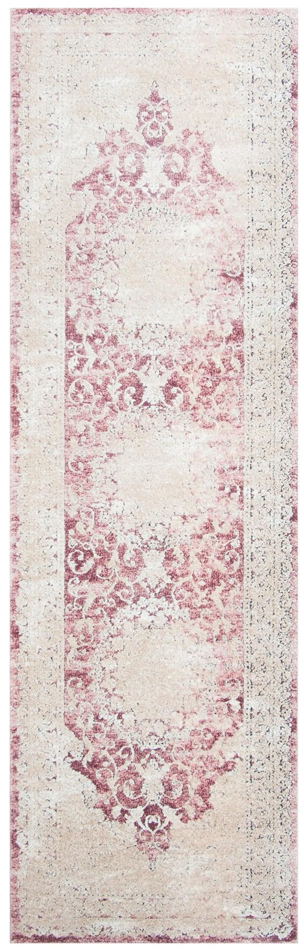 Rose, Beige (R) Vintage / Overdyed Area Rug