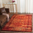 Product Image of Orange (C) Traditional / Oriental Area Rug