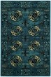Product Image of Traditional / Oriental Blue, Cream, Black (D) Area Rug