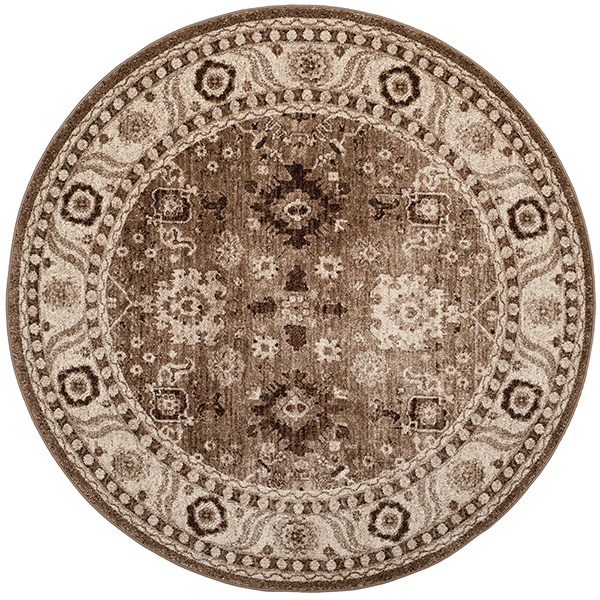 Taupe (T) Traditional / Oriental Area Rug