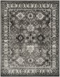 Product Image of Traditional / Oriental Grey, Black (K) Area Rug