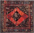 Product Image of Orange, Red, Black (B) Traditional / Oriental Area Rug