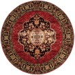 Product Image of Red, Gold, Black (A) Traditional / Oriental Area Rug