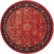 Product Image of Orange, Navy (C) Traditional / Oriental Area Rug