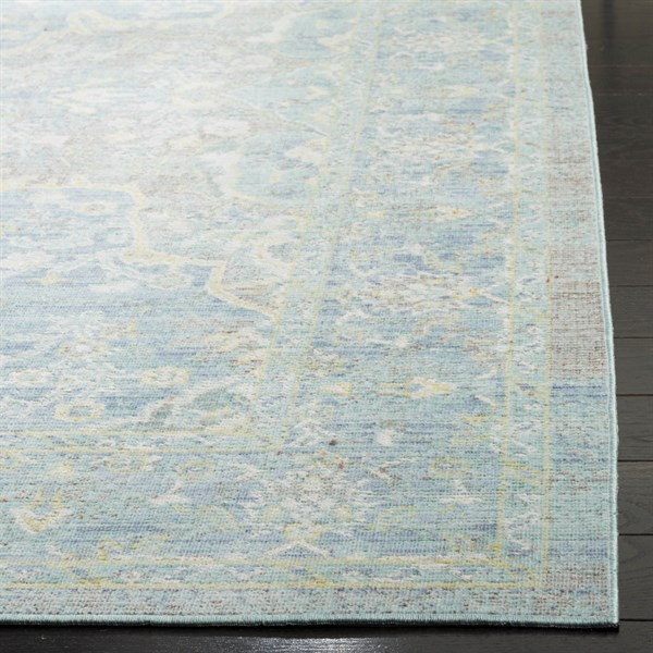 Seafoam, Blue (H) Vintage / Overdyed Area Rug