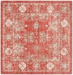 Product Image of Red, Ivory (N) Vintage / Overdyed Area Rug