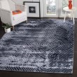 Product Image of Dark Blue (B) Contemporary / Modern Area Rug