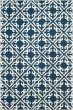 Product Image of Navy, Ivory (A) Traditional / Oriental Area Rug